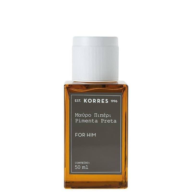Pimenta Preta Korres Eau de Cologne - Perfume Masculino 50ml
