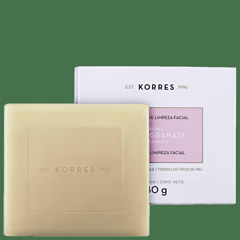 Korres Pomegranate - Sabonete em Barra Facial 80g