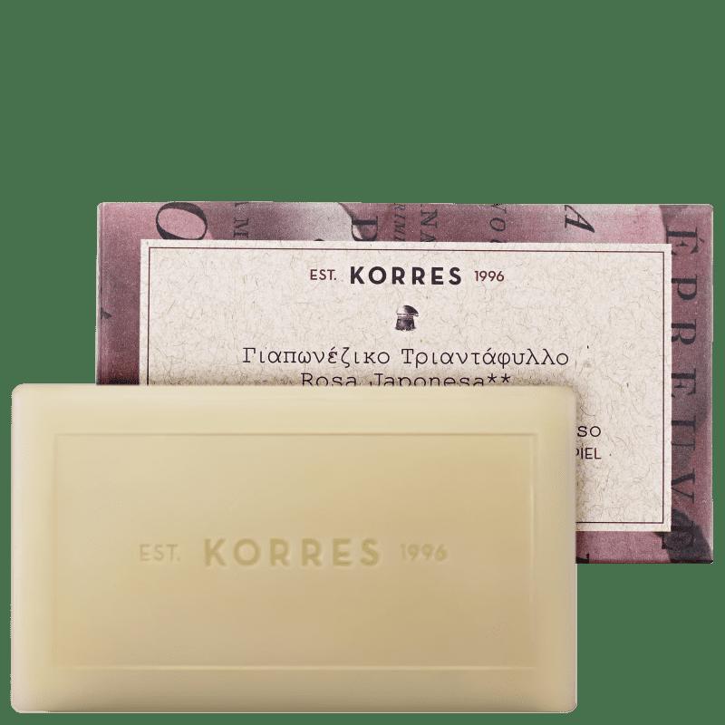 Korres Rosa Japonesa - Sabonete em Barra 100g