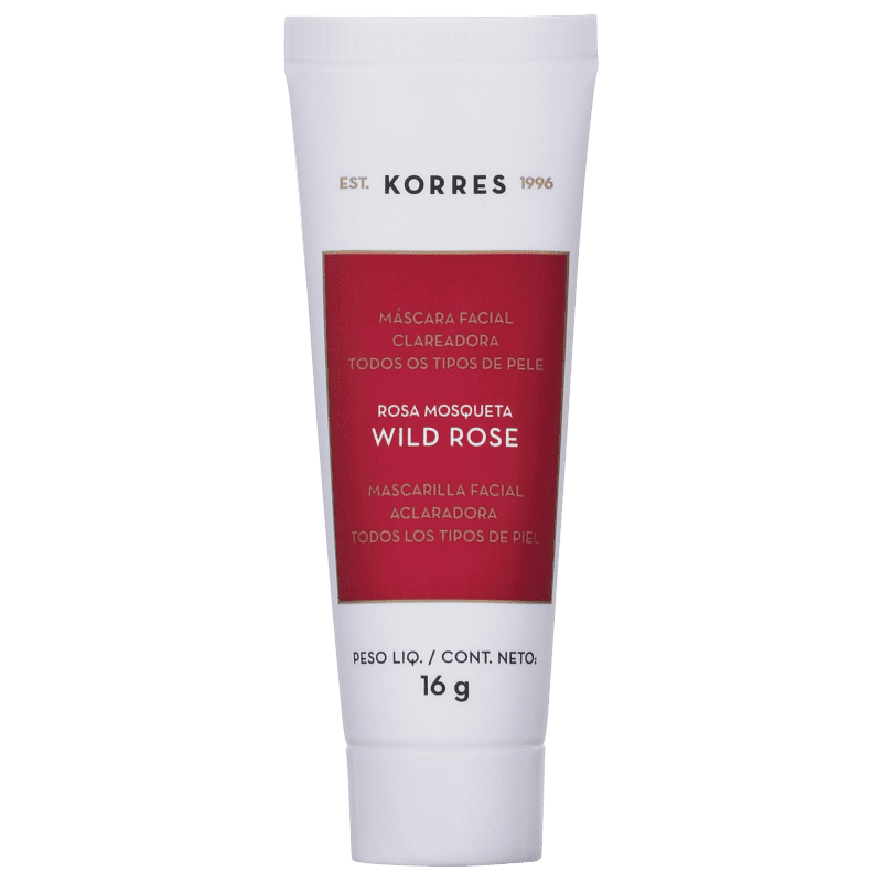 Korres Wild Rose - Máscara Clareadora 16g