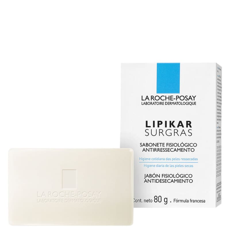 La Roche-Posay Lipikar Surgras - Sabonete em Barra 80g