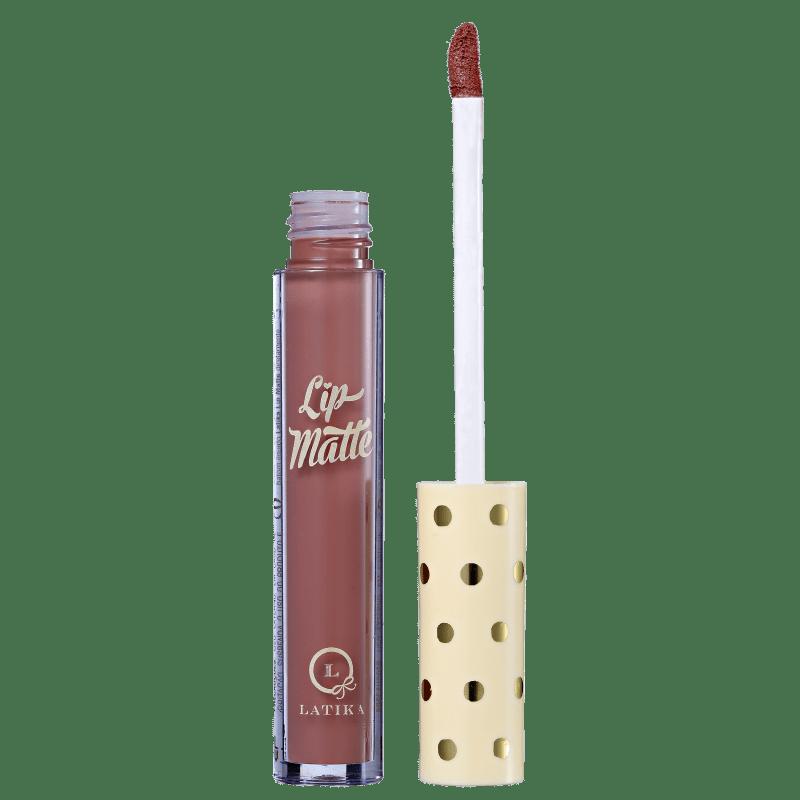 Latika Lip Nude Nº34 - Batom Líquido Matte 4ml