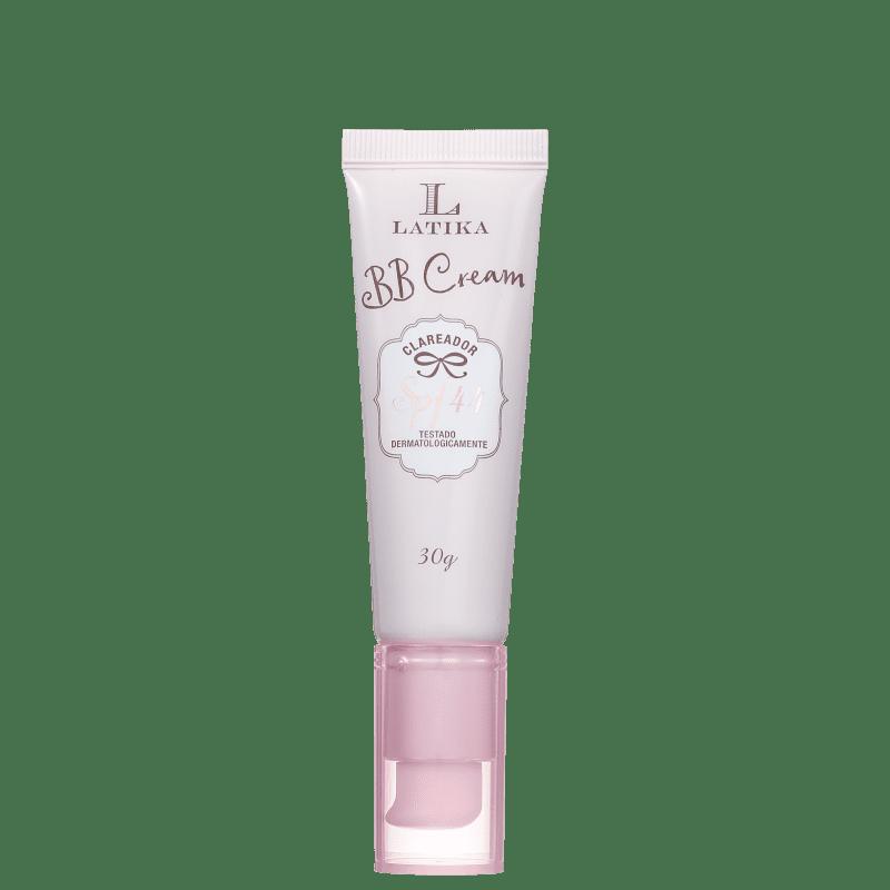 Latika Whitening FPS 44 Bege Médio - BB Cream Clareador 30g