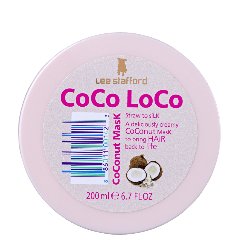 Lee Stafford Coco Loco Coconut - Máscara Capilar 200ml