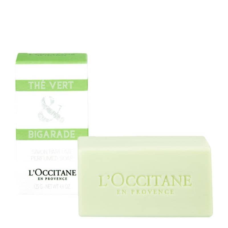 L'Occitane Thé Vert & Bigarade Savon Parfumé- Sabonete em Barra 125g