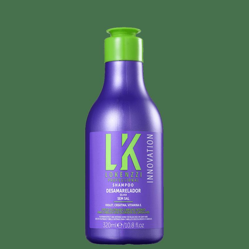 Lokenzzi Silver - Shampoo Desamarelador 320ml