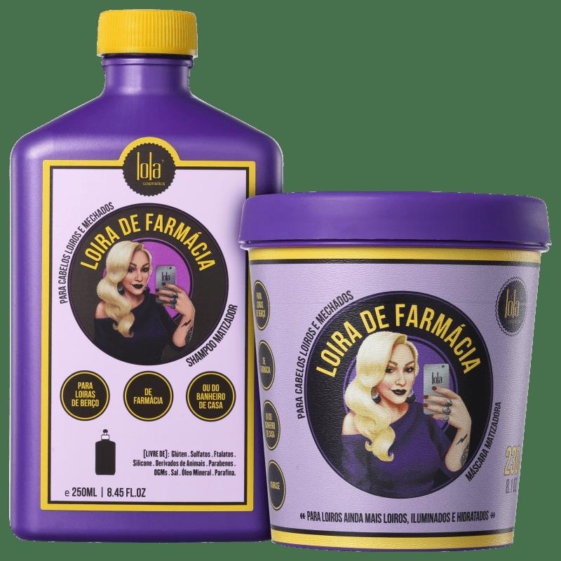 Kit Lola Cosmetics Loira de Farmácia Duo (2 Produtos)