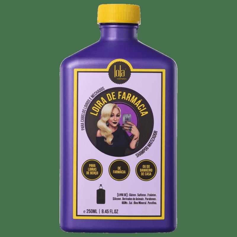 Lola Cosmetics Loira de Farmácia Matizador - Shampoo 250ml