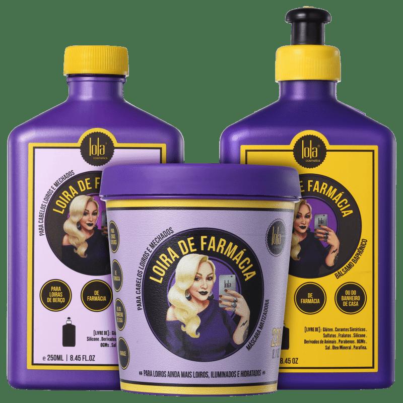 Kit Lola Cosmetics Loira de Farmácia Triplo (3 Produtos)