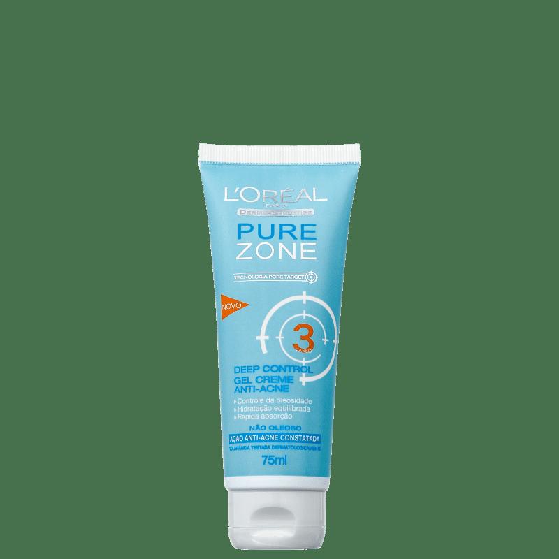 L'Oréal Paris Dermo-Expertise Pure Zone Deep Control - Hidratante Antiacne 75ml