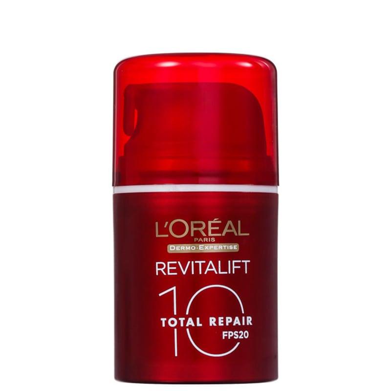 L'Oréal Paris Dermo-Expertise Revitalift Total Repair 10 FPS 20 - Creme Anti-Idade Diurno 50ml