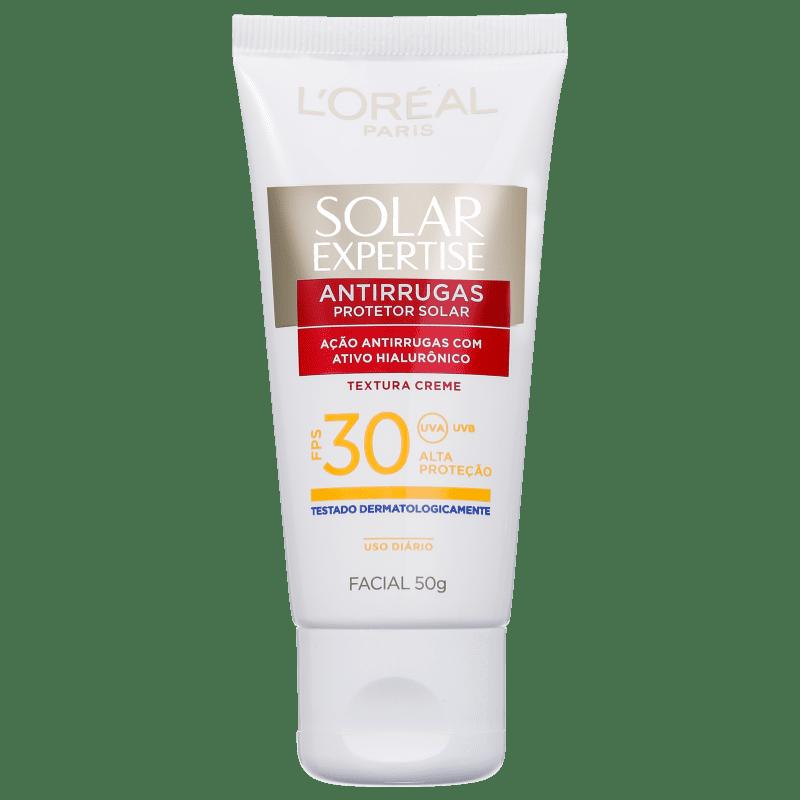 L'Oréal Paris Solar Expertise Antirrugas FPS 30 - Protetor Solar Facial 50g