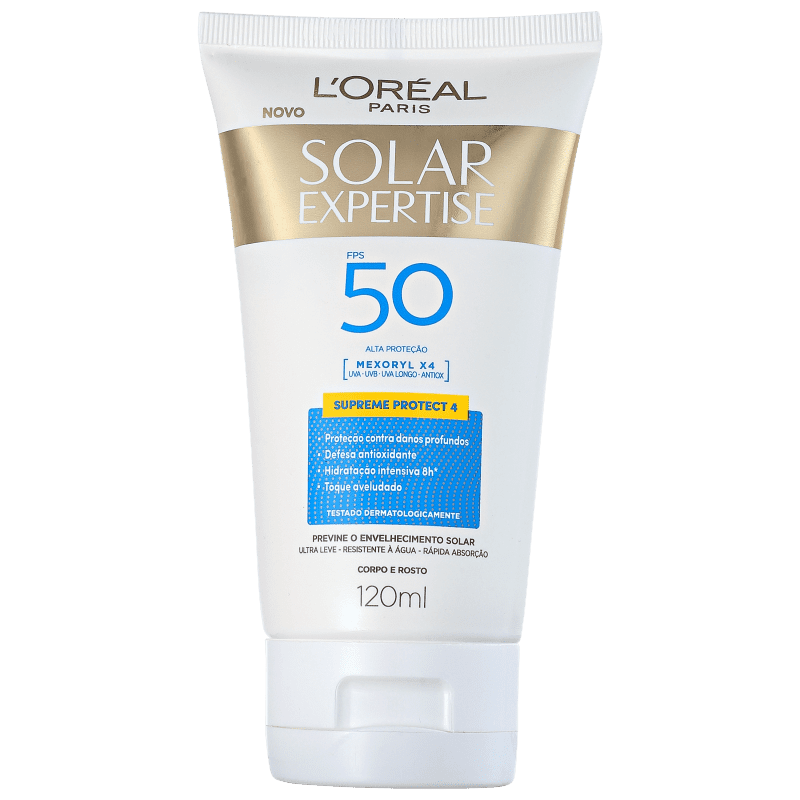L'Oréal Paris Solar Expertise Supreme Protect 4 FPS 50 - Protetor Solar 120ml