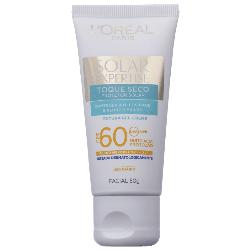 L'Oréal Paris Solar Expertise Toque Seco FPS 60 - Protetor Solar Facial 50g