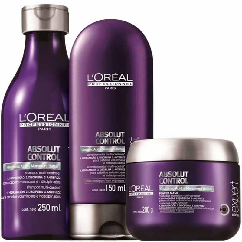Kit L'Oréal Professionnel Expert Absolut Control Power (3 Produtos)