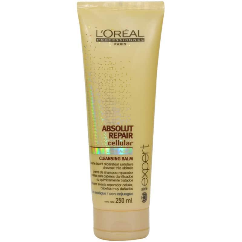 L'Oréal Professionnel Absolut Repair Cellular Cleansing Balm - Shampoo Creme 250ml
