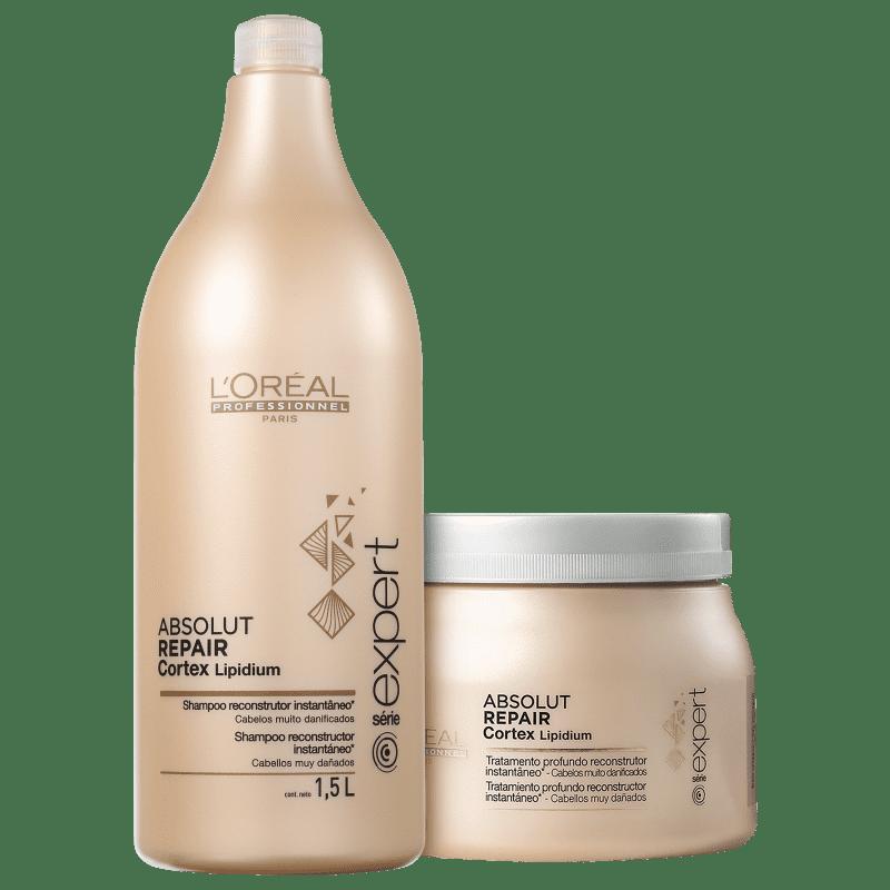 Kit L'Oréal Professionnel Expert Absolut Repair Cortex Lipidium Duo Salon (2 Produtos)