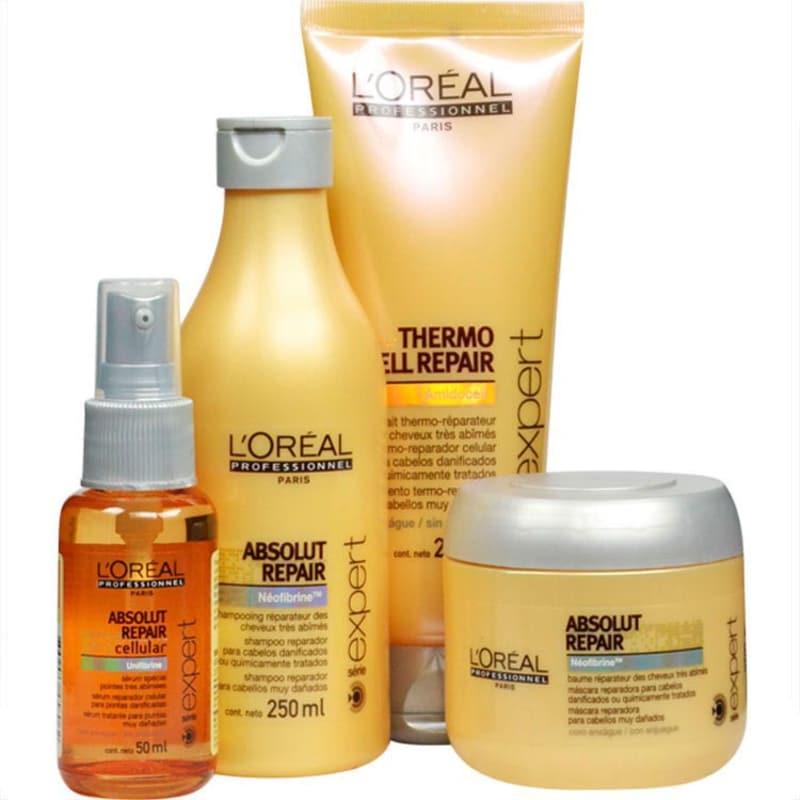 L'Oréal Professionnel Absolut Repair Escova Thermo Repair Kit (4 Produtos)