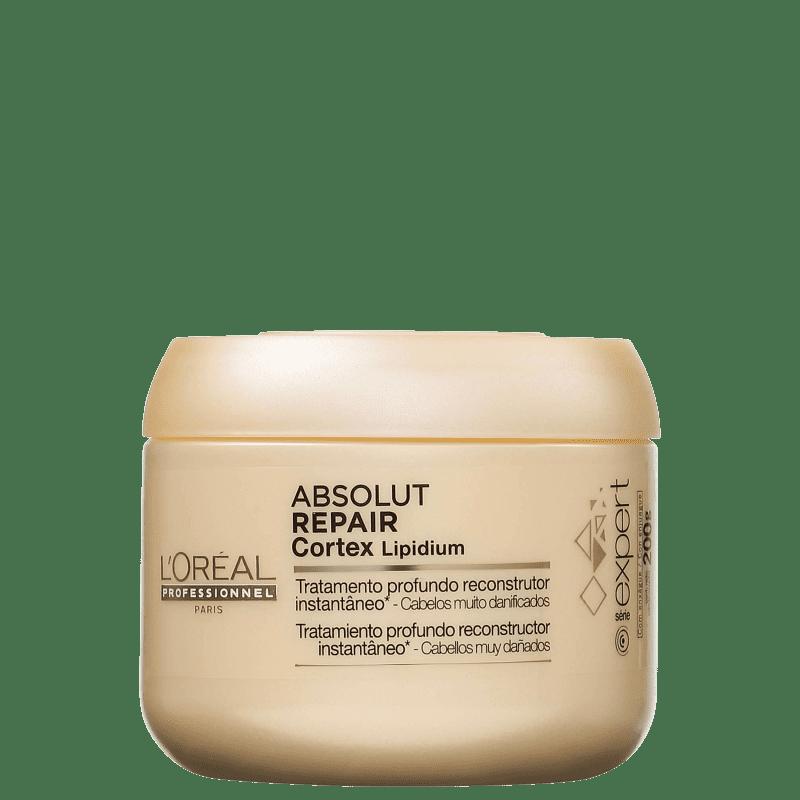 93cfc67a5 L'Oréal Professionnel Expert Absolut Repair Cortex Lipidium - Máscara de  Reconstrução 200g