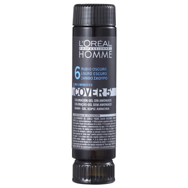 L'Oréal Professionnel Homme Cover 5 Louro Escuro 6 - Coloração 1x50ml