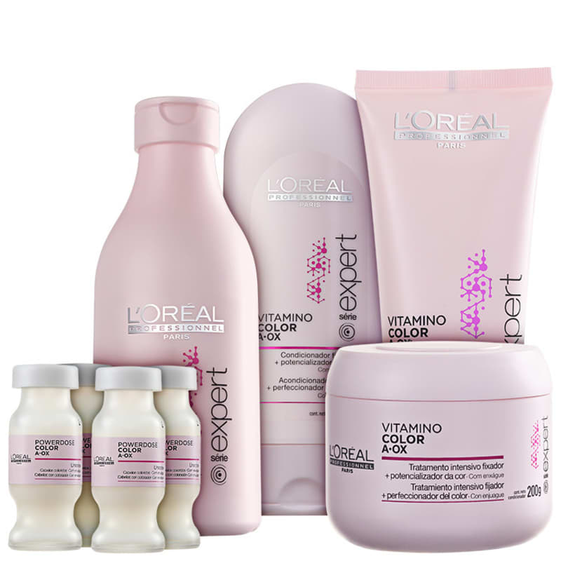 Kit L'Oréal Professionnel Expert Vitamino Color A.OX Full (5 Produtos)
