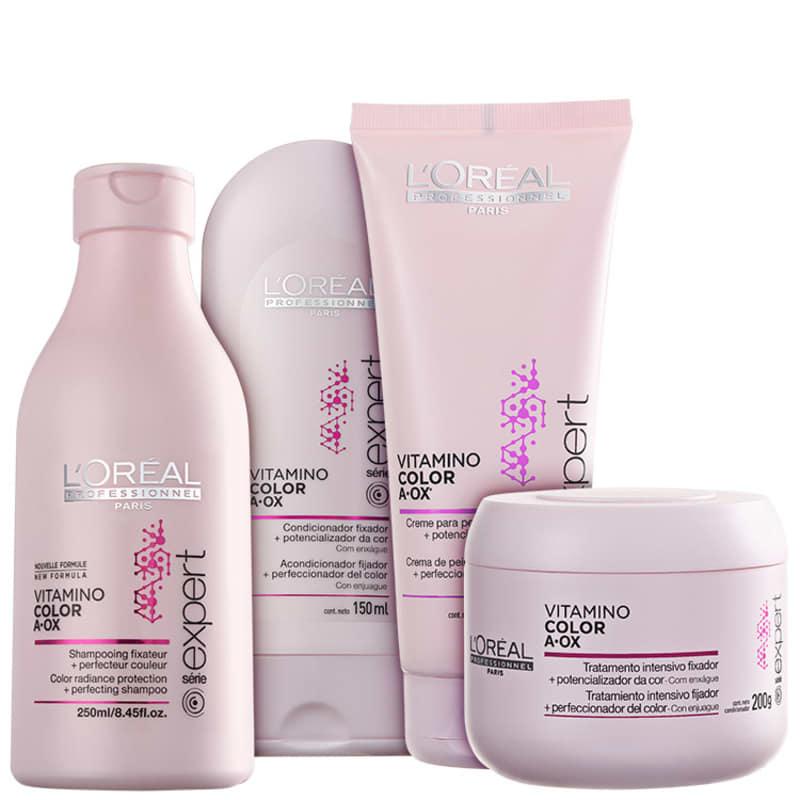Kit L'Oréal Professionnel Expert Vitamino Color A.OX Total (4 Produtos)