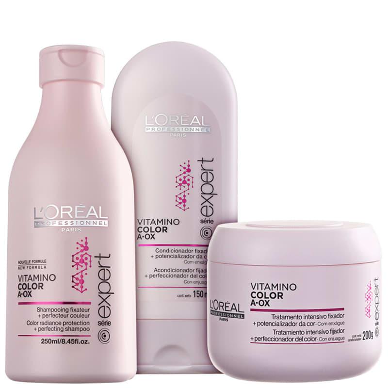 Kit L'Oréal Professionnel Expert Vitamino Color A.OX Trio (3 Produtos)