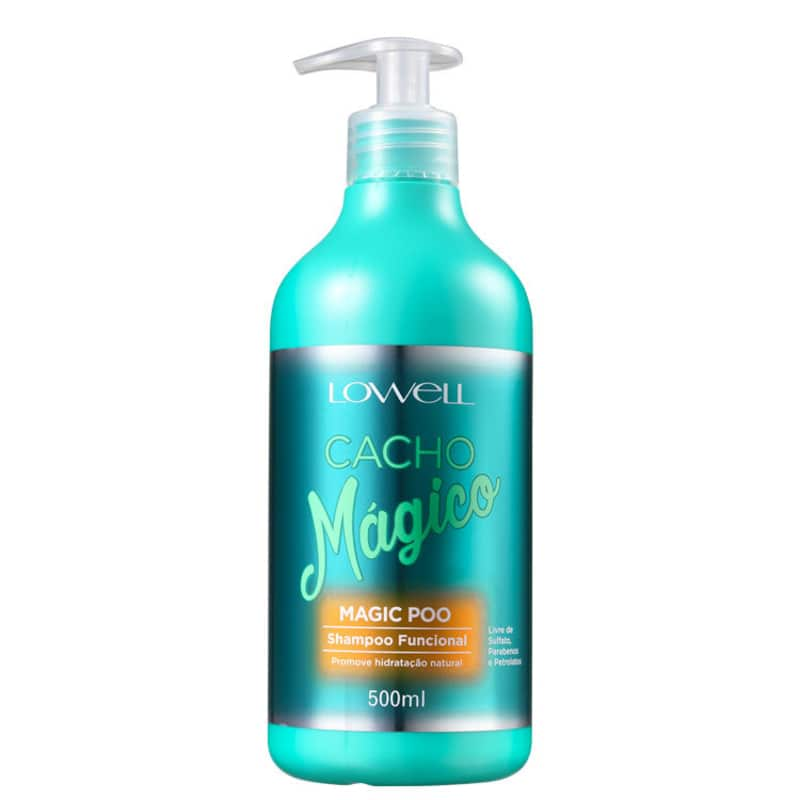 Lowell Cacho Mágico Magic Poo - Shampoo sem Sulfato 500ml