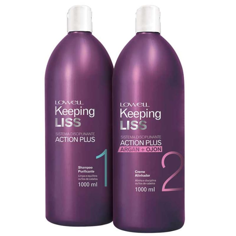 Lowell Kepping Liss Action Plus Kit (2 Produtos)