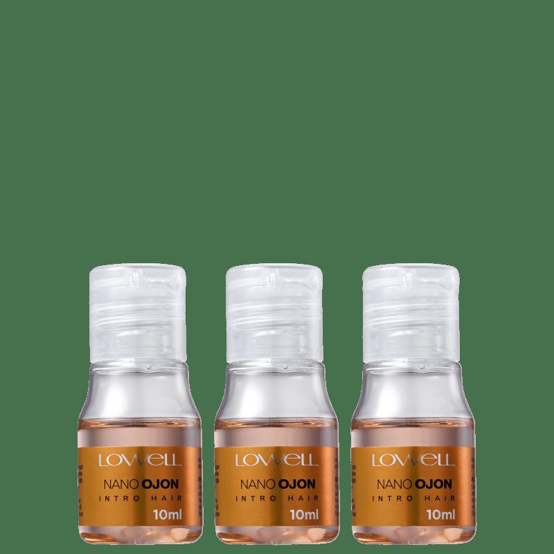 Kit Lowell Nano Ojon Intro Hair Mini (3 Produtos)