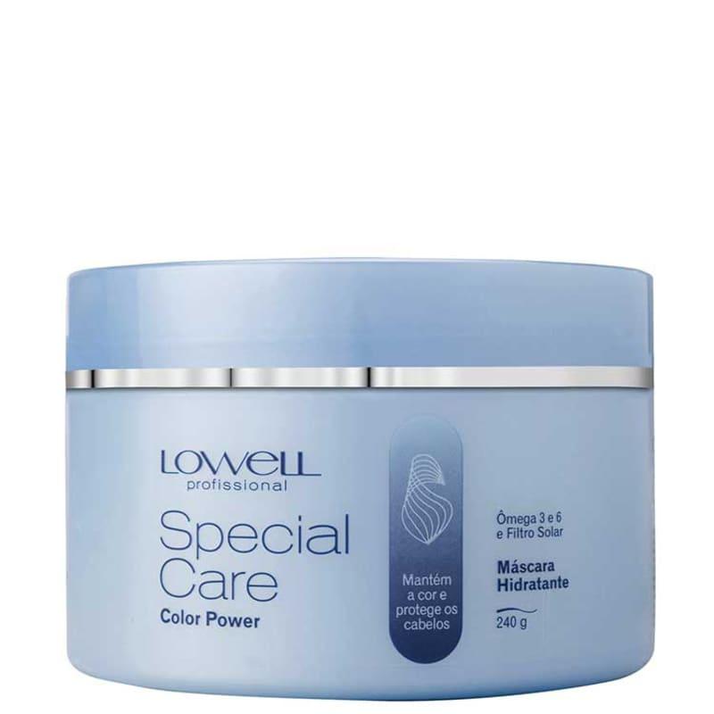 Lowell Special Care Color Power - Máscara Hidratante 240g