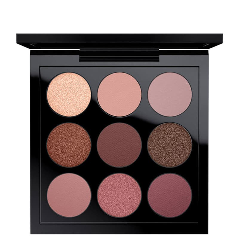 M·A·C Eye Shadow X 9 Burgundy Times Nine - Paleta de Sombras 5,85g