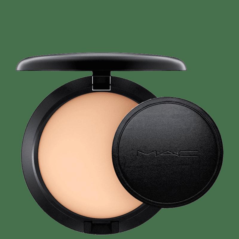 M·A·C Next To Nothing Powder Pressed Medium Plus - Pó Compacto Luminoso 10g