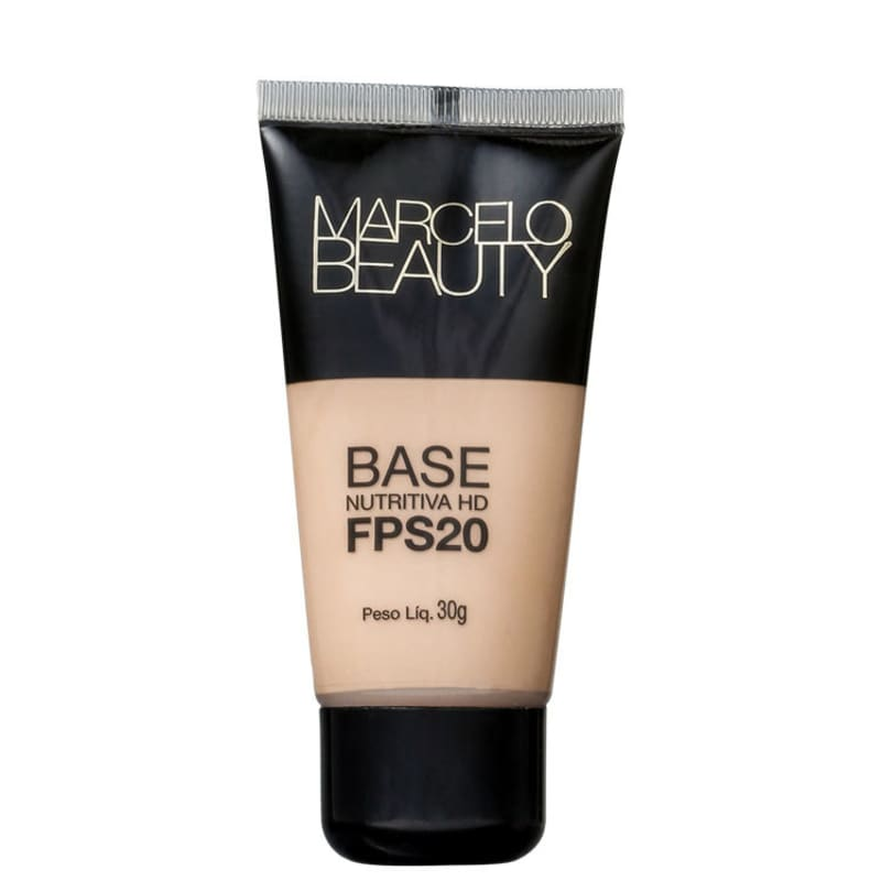 Marcelo Beauty Nutritiva HD FPS 20 Clara - Base Líquida 30g