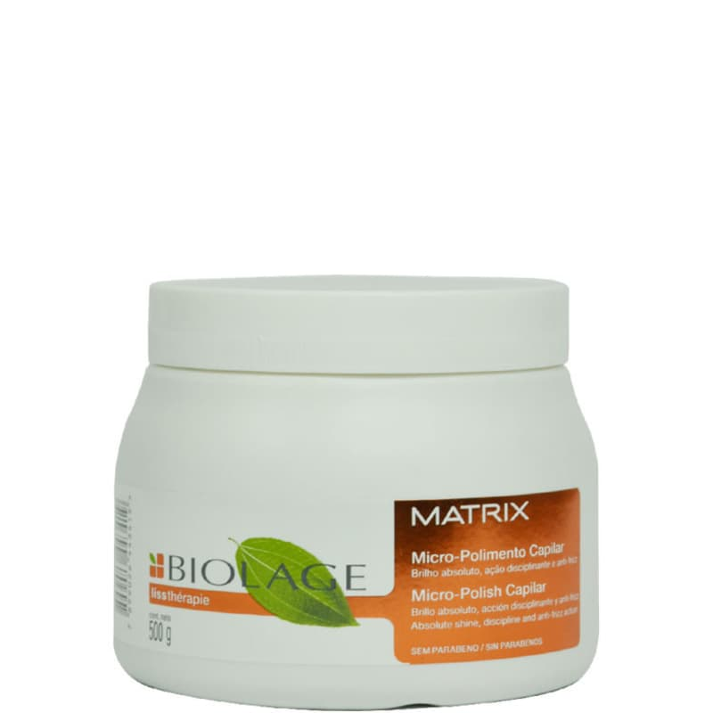 Matrix Biolage Lissthérapie Micro-Polimento Capilar - Tratamento 500g