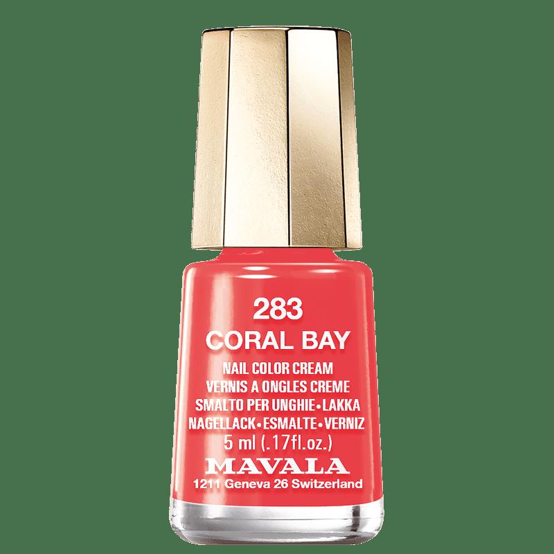 Mavala Mini Colours 283 Coral Bay - Esmalte Cremoso 5ml