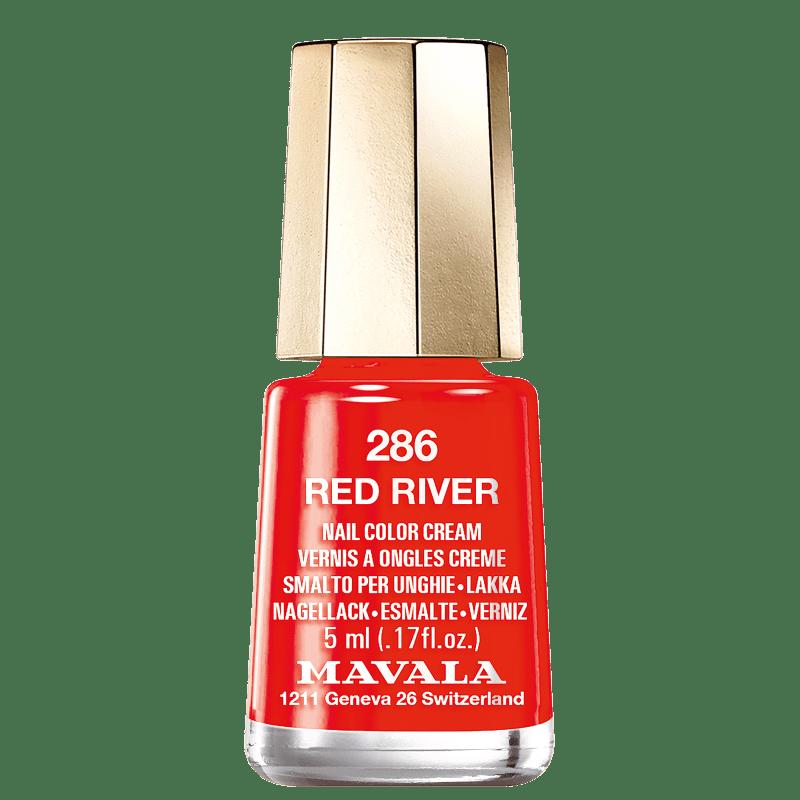 Mavala Mini Colours 286 Red River - Esmalte Cremoso 5ml