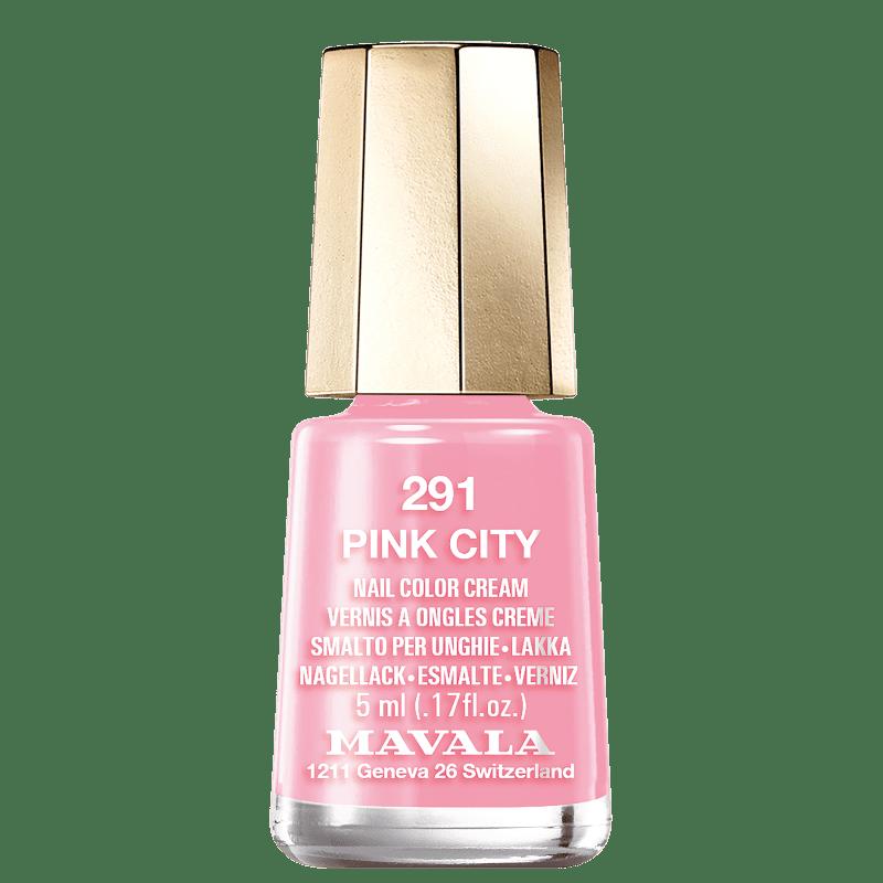 Mavala Mini Colours 291 Pink City - Esmalte Cremoso 5ml