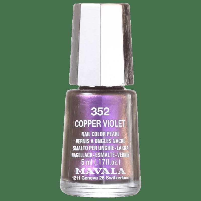 Mavala Mini Colours Cooper Violet - Esmalte Metálico 5ml