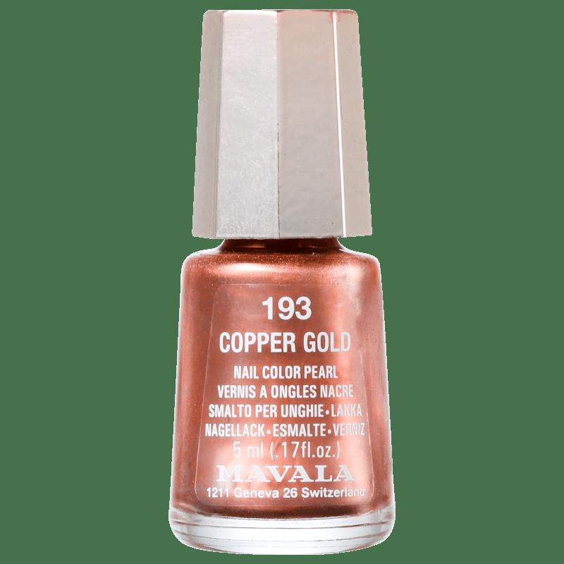 Mavala Mini Colours Copper Gold - Esmalte Metálico 5ml