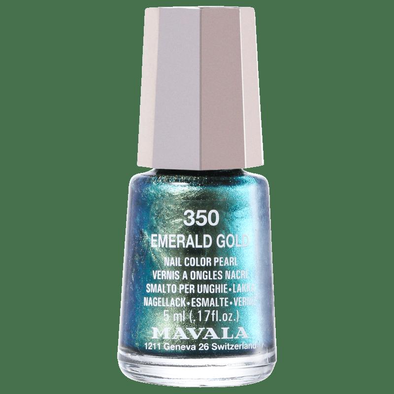 Mavala Mini Colours Emerald Gold - Esmalte Metálico 5ml