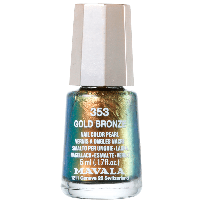 Mavala Mini Colours Gold Bronze - Esmalte Metálico 5ml