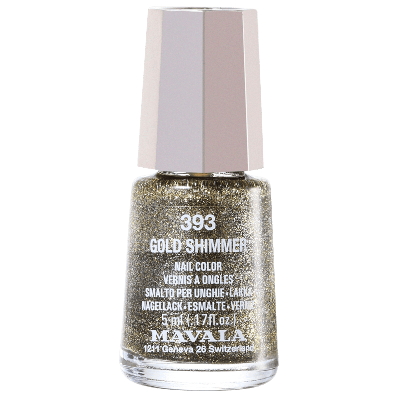 Mavala Mini Colours Gold Shimmer - Esmalte Glitter 5ml