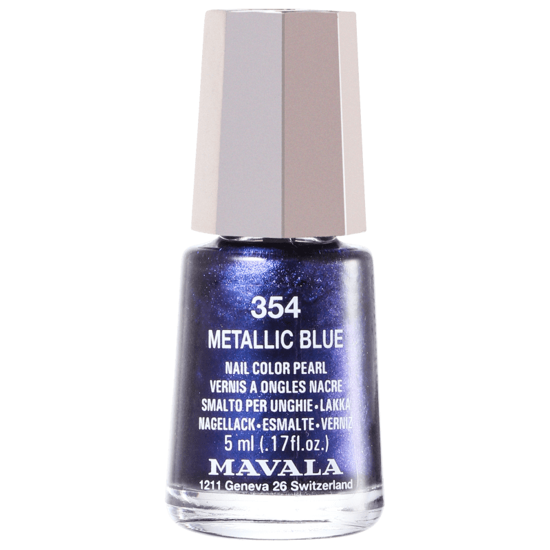 Mavala Mini Colours Metallic Blue - Esmalte Metálico 5ml