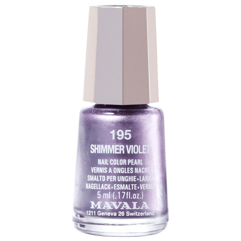 Mavala Mini Colours Shimmer Violet - Esmalte Metálico 5ml