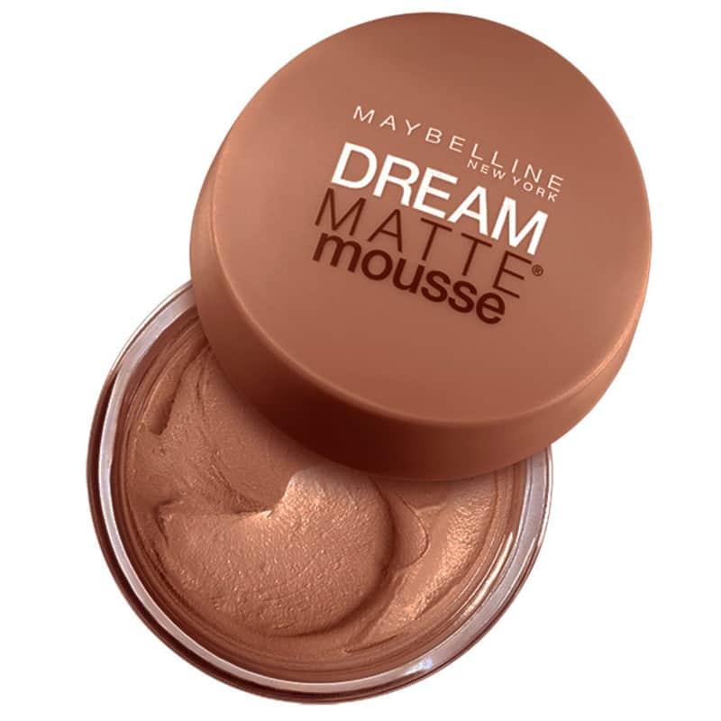 Maybelline Dream Matte Mousse Dark Caramelo - Base em Mousse 18g