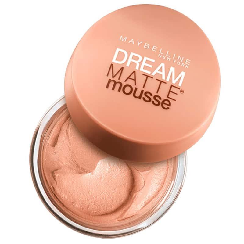 Maybelline Dream Matte Mousse Sandy Beige Medium - Base em Mousse 18g