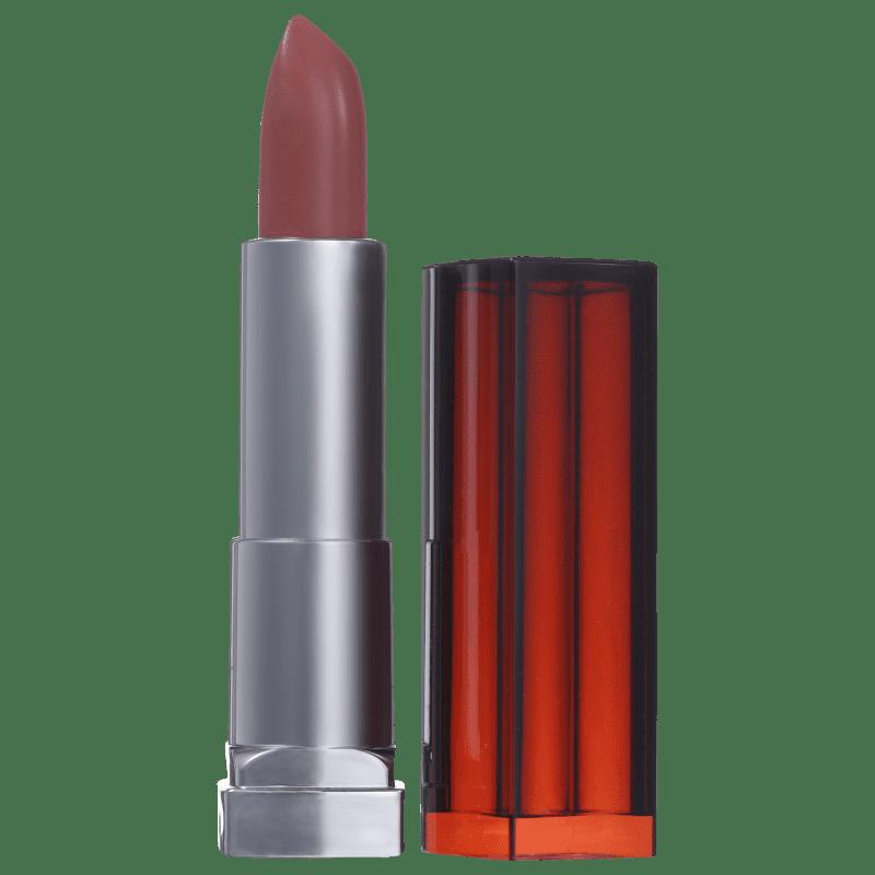 Maybelline Color Sensational Nudes Impecáveis 204 Nem Te Conto - Batom Matte 4,2g