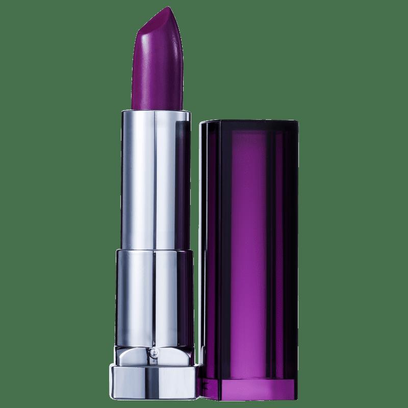 Maybelline Color Sensational Roxos Provocantes 401 Nunca Diga Nunca - Batom Cremoso 4,2g