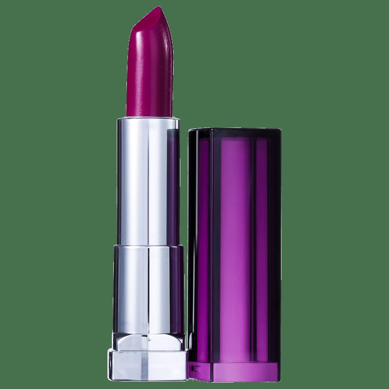 Maybelline Color Sensational Roxos Provocantes 402 Fetiche - Batom Cremoso 4,2g
